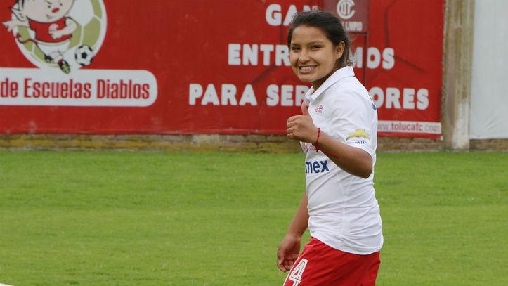 Nataly Mauleón de Toluca, jugadora que desea América