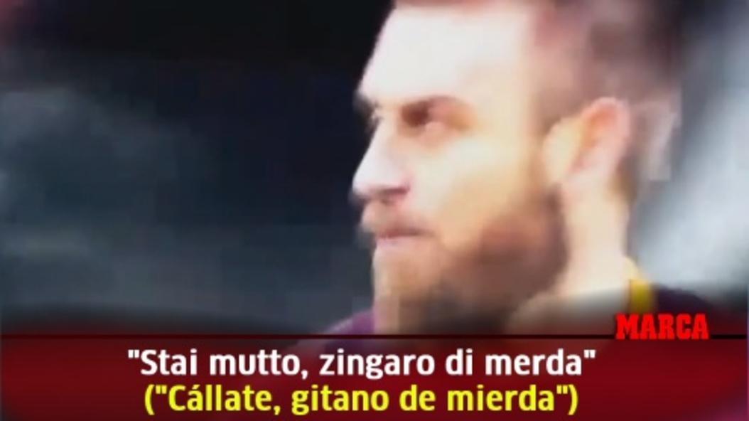 Serie A Callate Gitano De Mierda Marca Com Stream callate by ratchetón from desktop or your mobile device. asi fueron los insultos de de rossi a mandzukic