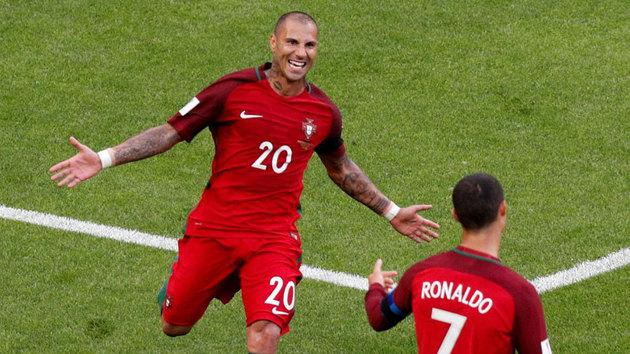 28e60dead9db2 Video thumbnail for Gol de Quaresma en el Portugal 2-2 México