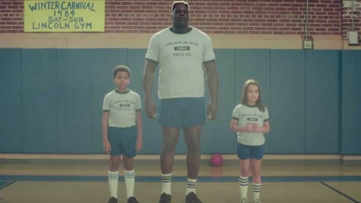 grandes ofertas ahorrar compras NBA: Un infantil Shaquille vuelve al duro colegio en el que ...
