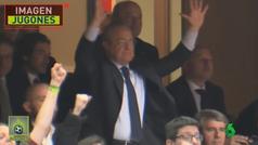 Florentino celebró antes de tiempo la 'victoria' del Real Madrid en la Copa del Rey
