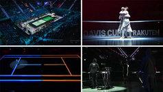 Así fue la espectacular ceremonia de luz y color para inaugurar la nueva Copa Davis