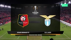 Europa League (Grupo E): Resumen y goles del Rennes 2-0 Lazio
