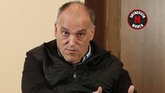 """Javier Tebas: """"Propongo al amigo Rubiales para el Príncipe de Asturias a la Concordia"""""""