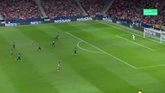 Gol de Griezmann (2-1) en el Atlético 3-1 Brujas