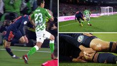 Cheryshev se 'deja' la rodilla en una mala pisada y hace saltar todas las alarmas