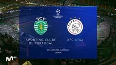 Champions League (J1): Sporting Portugal 1-5 Ajax
