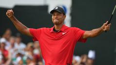 Tiger Woods vuelve a ganar un torneo cinco años después