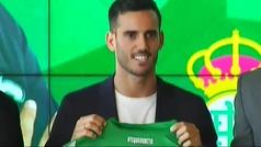"""El Betis presenta a un Juanmi emocionado: """"Mucho Betis"""""""