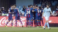LaLiga (J24): Resumen y goles del Celta 1-4 Levante