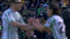 Lainez debuta con el Betis