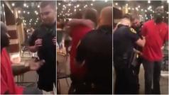 Surrealista: dos policías detienen y agreden a un hombre por error...¡que era del FBI!