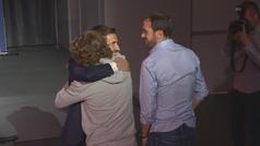 El reencuentro de Gabi y Griezmann... tras el dardo del excapitán