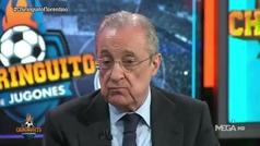 """La respuesta de Florentino Pérez a Ceferin: """"Lo que no puede el presidente de la UEFA es insultar"""""""