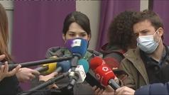 """Isa Serra, tras las pintadas a la sede de Podemos: """"Frente a su odio, más feminismo"""""""