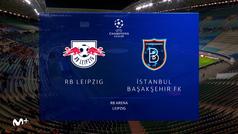 Champions League (J1): Resumen y goles del RB Leipzig 2-0 Basaksehir