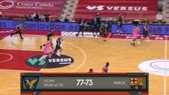 Liga ACB: Resumen Murcia 77-73 Barcelona