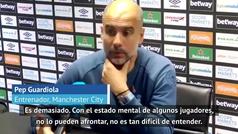 Guardiola vuelve a quejarse por el calendario