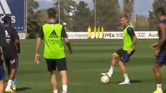 El regreso de Kroos, más cerca: ya toca balón con el resto de compañeros