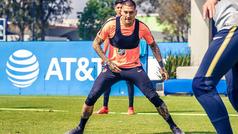 """Nicolás Castillo: """"Es una camiseta importante y tengo que demostrarlo en la cancha"""""""