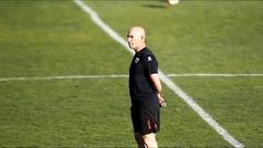 """Jémez vuelve a entrenar al Rayo: """"¡Tenemos que ganar algún partido, tenemos que hacer goles!"""""""