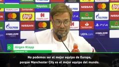 """Dardo de Klop a Guardiola: """"No podemos ser el mejor de Europa porque el City es el mejor del mundo"""""""