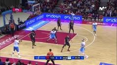 La exhibición triplista de Vasileiadis le vale el MVP