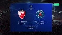 Champions League (J6): Resumen y goles del Estrella Roja 1-4 PSG