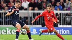Champions League (Grupo B): Resumen y goles del Bayern 3-0 Estrella Roja