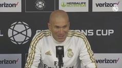 "Zidane: ""Bale no se vistió porque él no quiso"""