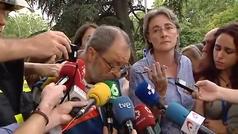 Un muerto y once heridos tras un derrumbe en las obras del hotel Ritz de Madrid