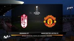 Uefa Europa League (ida cuartos de final): Resumen y goles del Granada 0-2 Manchester United