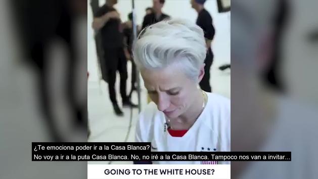 "Rapinoe, verdugo de España y capitana de USA: ""No voy a ir a la puta Casa Blanca"""