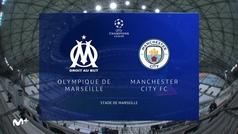 Champions League (J2): Resumen y goles del Marsella 0-3 Manchester City