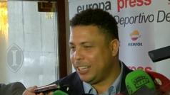 """Ronaldo sueña con Vinícius en el Valladolid: """"Es un talento enorme y ya se lo he pedido al Madrid"""""""