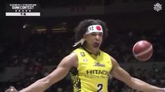 En Japón alucinan con Sebas Saiz: ¡Mate con dos balones a la vez!