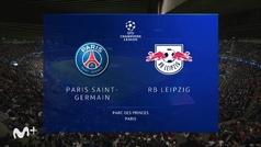 Champions League (Jornada 3): Resumen y goles del PSG 3-2 Leipzig