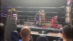 Carlos Coello vuelve a ganar por KO en el Lumpinee