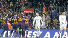 Copa del Rey (1/16, vuelta): Resumen y goles del Barcelona 4-1 Cultural Leonesa