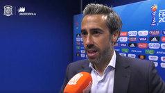 """Jorge Vilda: """"Seguro que nos acabarán entrando los goles"""""""