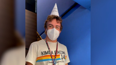 Así ha recibido Alpine a Alonso en Hungaroring