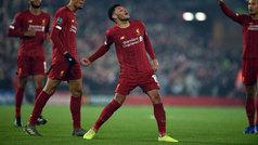 Champions League (Grupo E): Resumen y goles del Liverpool 2-1 Genk