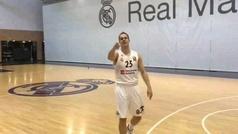 Prepelic, el sustituto de Doncic en el Madrid, acepta el mayor reto continental
