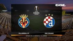 Europa League (1/4, vuelta): Resumen y goles del Villarreal 2-1 Dinamo Zagreb