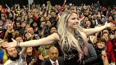 Alexa Bliss, la diva de la WWE, presente en Lucha Sin Límite