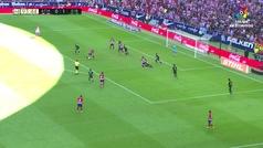 Gol de oro: Gol de Borja Garcés (1-1) en el Atlético 1-1 Eibar