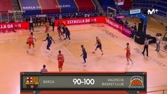 Liga ACB: Resumen Barcelona 90-100 Valencia