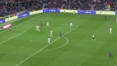 Gol de Luis Suárez (3-0) en el Barcelona 3-0 Eibar