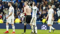 Champions League (octavos, vuelta): Resumen y goles del Real Madrid 1-4 Ajax