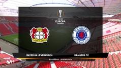 Europa League (octavos, vuelta): Resumen y goles del Bayer Leverkusen 1-0 Glasgow Rangers